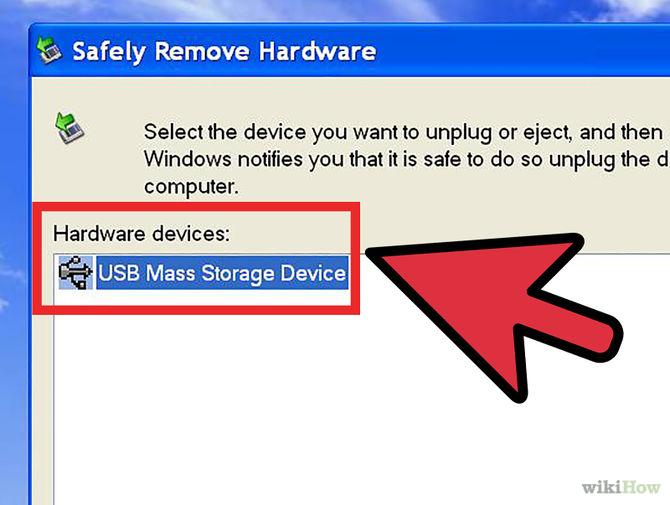 Tháo USB từ máy tính trước khi máy khởi động lại.