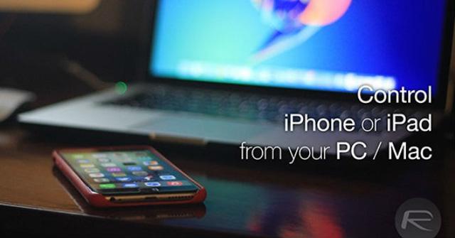 Hướng dẫn cách điều khiển iPhone, iPad từ xa bằng máy tính hoặc Macbook