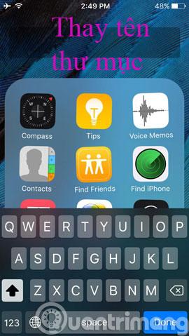 Làm thế nào để ẩn ứng dụng trên màn hình iPhone?