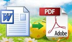 Cách chuyển file Word sang PDF đẹp mỹ mãn