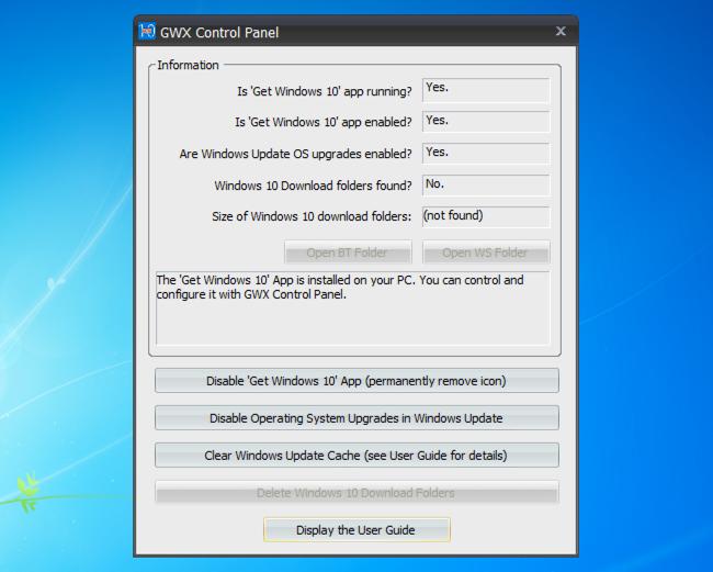 Cách ngăn tự động tải về Windows 10 trên Windows 7 và 8