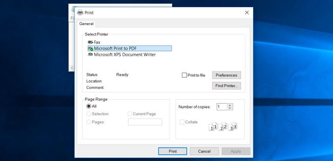 Cách in file PDF trên máy tính, lap top, điện thoại hoặc máy tính bảng