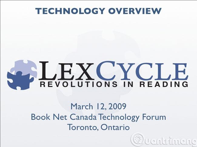Phần mềm Lexcycle Stanza