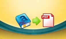 3 cách chuyển đổi file PRC sang PDF