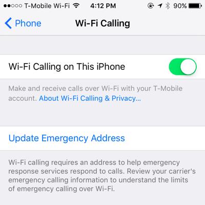 Hướng dẫn kích hoạt và sử dụng tính năng Wifi Calling trên iOS 8