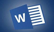 Thủ thuật ẩn hiện thanh công cụ Ribbon trong Word 2013