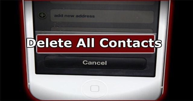 Cách xóa nhiều số điện thoại trong danh bạ iPhone cùng lúc
