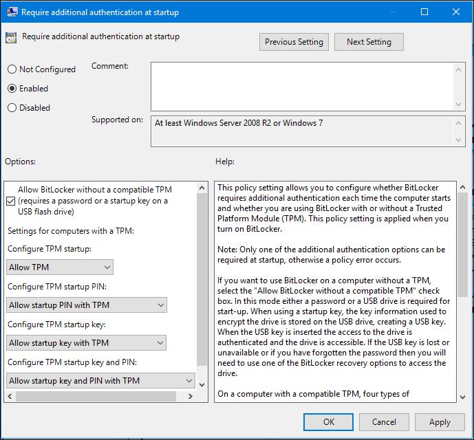 Cách dùng Bitlocker để mã hóa dữ liệu trên Windows 10 (Phần cuối)