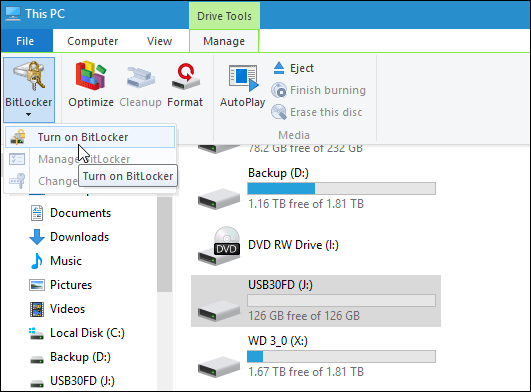 Hướng dẫn mã hóa USB hoặc thẻ nhớ bằng Bitlocker trên Windows 10