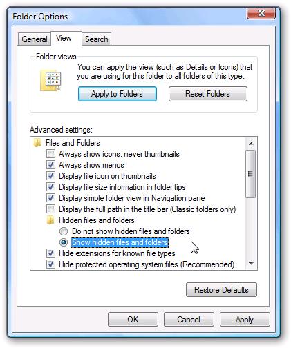 , Cách hiện file ẩn, thư mục ẩn trên Windows 10/8/7 [NEW]