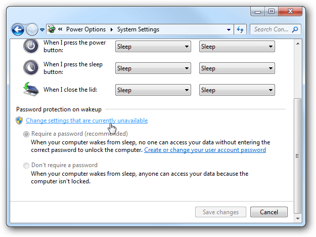 Máy tính của bạn yêu cầu nhập mật khẩu sau khi khởi động từ chế độ Sleep, đây là cách khắc phục