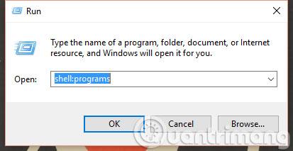 Làm thế nào để thêm phím tắt trang web vào Start Menu trên Windows 10?