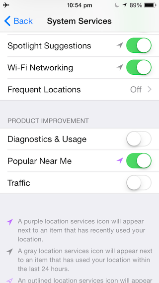 Tắt mạng wifi