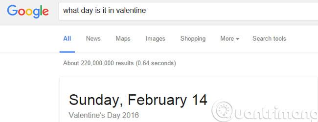 Xác định chính xác ngày trong tuần