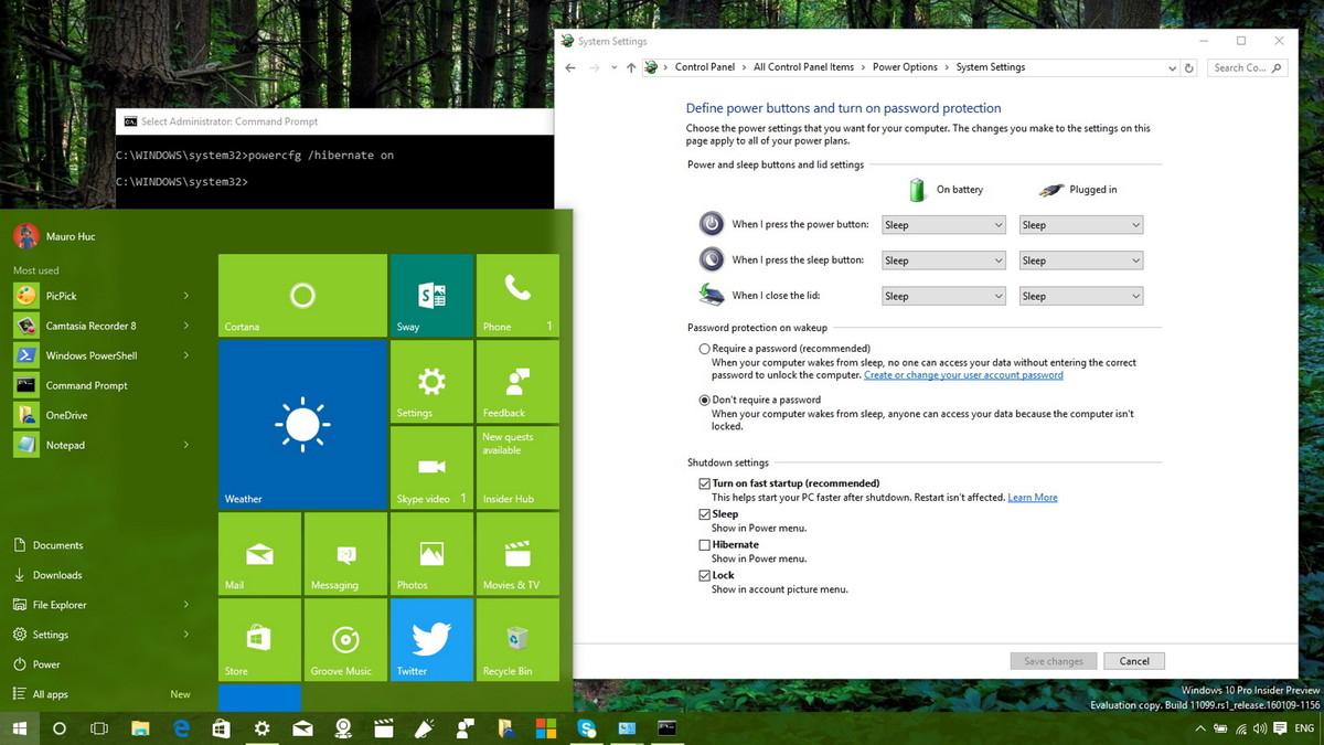 Tăng tốc khởi động Windows 10