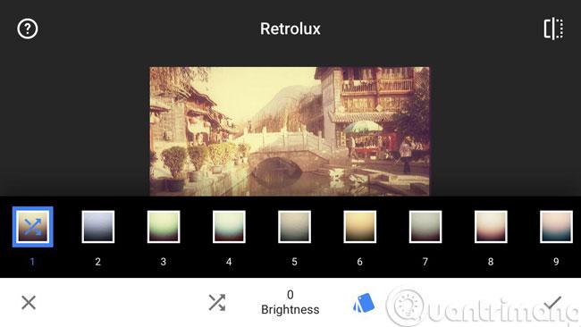 Chỉnh sửa ảnh tuyệt đẹp trên smartphone với Snapseed