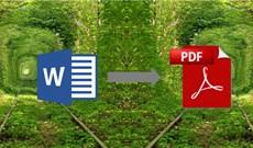 Thêm một công cụ nữa chuyển đổi file Word sang PDF miễn phí