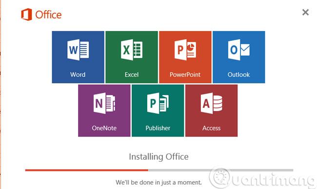 Cài đặt Office 2016 trên máy tính