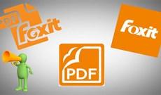 Thiết đặt chế độ đọc văn bản bằng giọng nói trong Foxit Reader như thế nào?