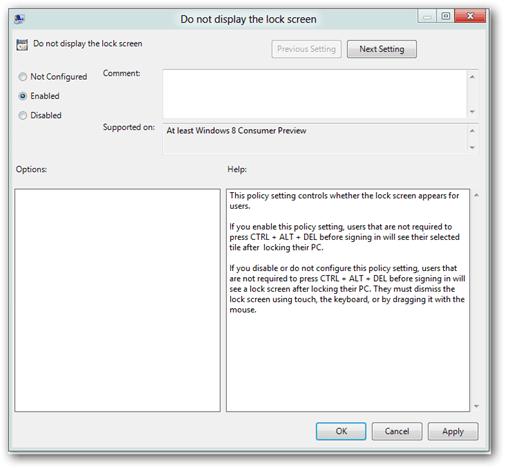 Cách vô hiệu hóa màn hình khóa Lock Screen trên Windows 8, 10