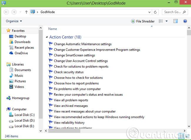 7 thủ thuật nhỏ với thư mục trong Windows