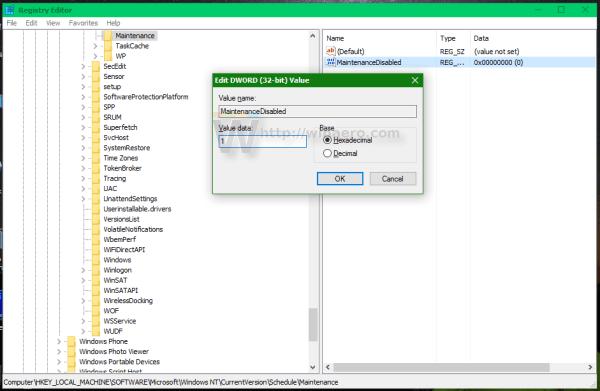 Cách vô hiệu hóa tính năng Automatic Maintenance trên Windows 10