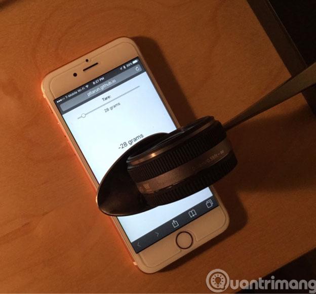 Thủ thuật sử dụng 3D Touch trên iPhone 6S làm cân điện tử