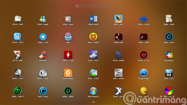 Mô phỏng launcher iPad trên Windows với PaperPlane