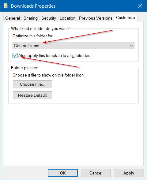 Khắc phục lỗi mở thư mục Download trên Windows 10 quá chậm