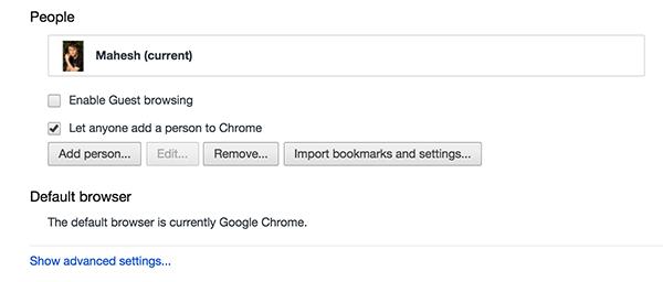 Khi tốc độ mạng chậm, tắt tính năng này đi để duyệt Web trên các trình duyệt nhanh hơn