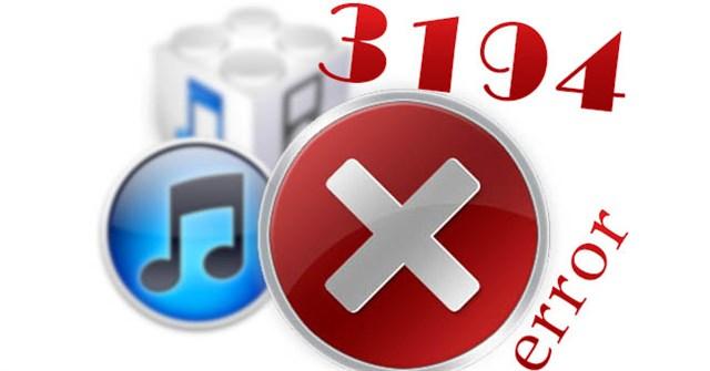 Tổng hợp một số cách sửa lỗi 3194 trong quá trình restore hoặc update iPhone, iPad
