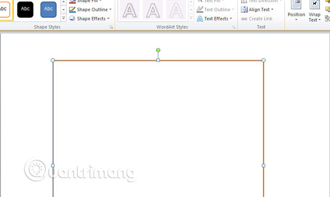 Cách tạo khung trong Word 2007, 2010, 2013