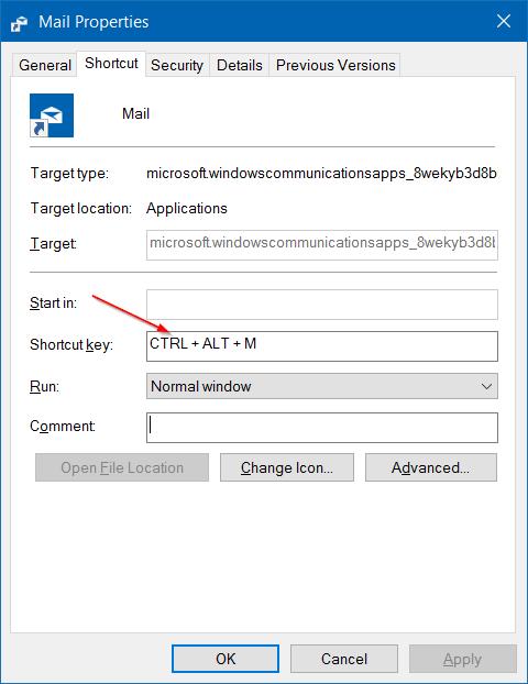 Cách tạo phím tắt để mở ứng dụng trên Windows 10