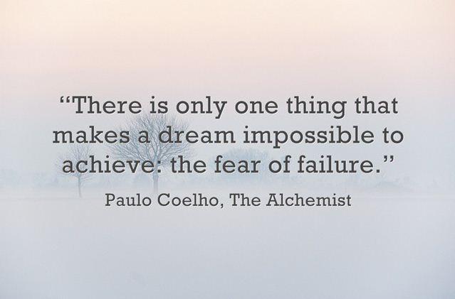 Nỗi sợ hãi khiến giấc mơ không thành sự thật