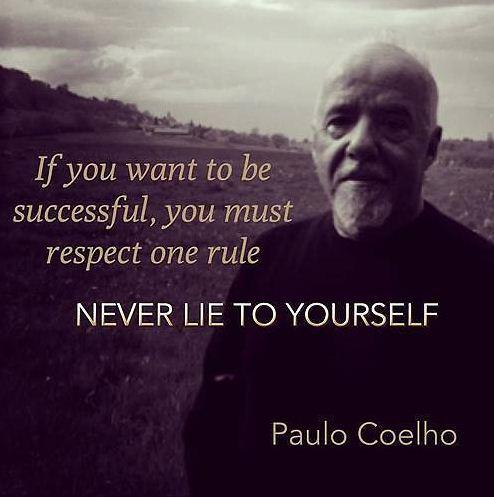 Đừng bao giờ nói dối chính mình