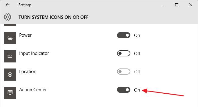 Đây là cách tùy chỉnh và vô hiệu hóa (tắt) Action Center trên Windows 10
