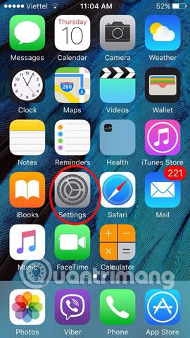 Đặt mật khẩu 6 ký tự cho iPhone