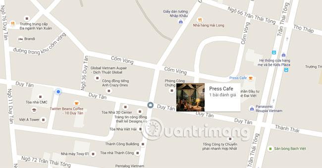 Google Maps và 8 thủ thuật hữu ích bạn nên biết
