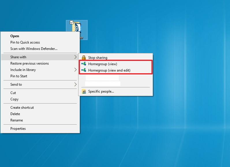 Hướng dẫn thiết lập và quản lý HomeGroup trên Windows 10