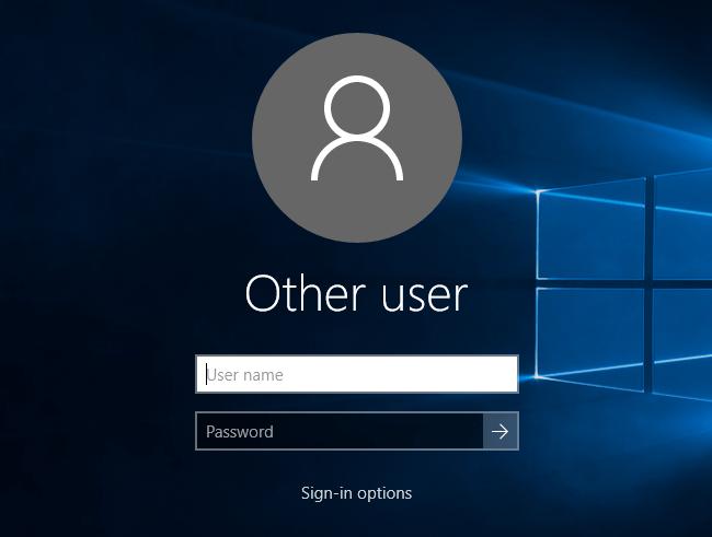 Làm sao để ẩn thông tin cá nhân trên màn hình đăng nhập Windows 10?