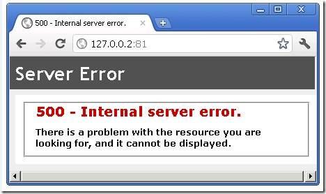 Lỗi 500 Internal Server Error là gì và làm gì để khắc phục