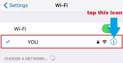 Wifi hiện tại