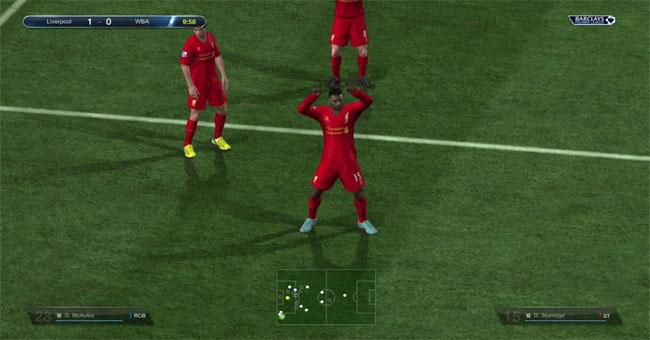 Cách ăn mừng bàn thắng