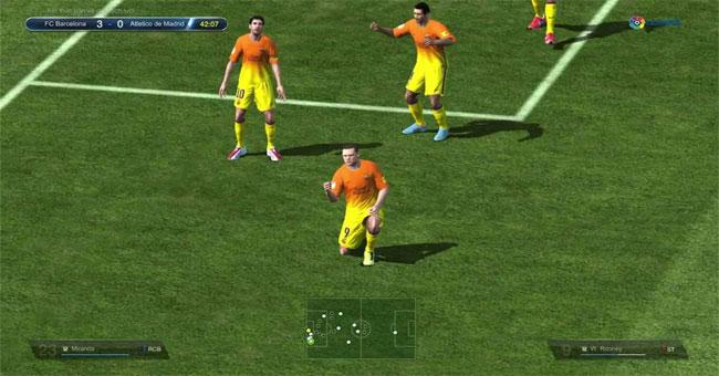 Các phím tắt ăn mừng bàn thắng trong FIFA Online 3