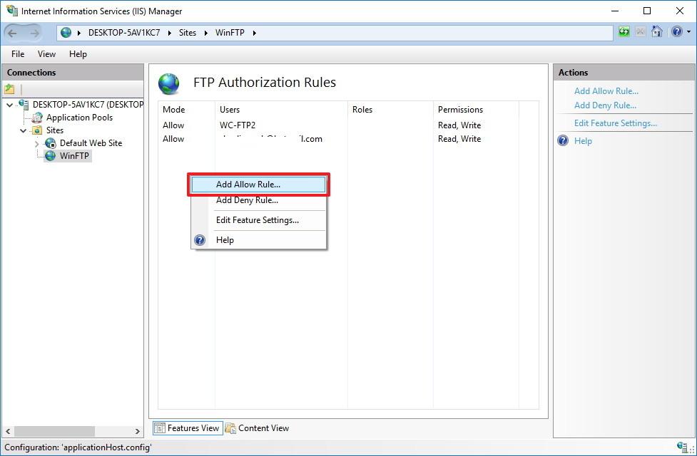 Hướng dẫn thiết lập và quản lý FTP Server trên Windows 10