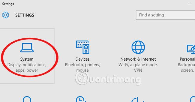 Đổi folder lưu dữ liệu mặc định trong Windows 10