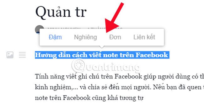 Cách viết note trên Facebook giao diện mới - Ảnh minh hoạ 14