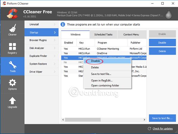 Hướng dẫn sử dụng CCleaner hiệu quả