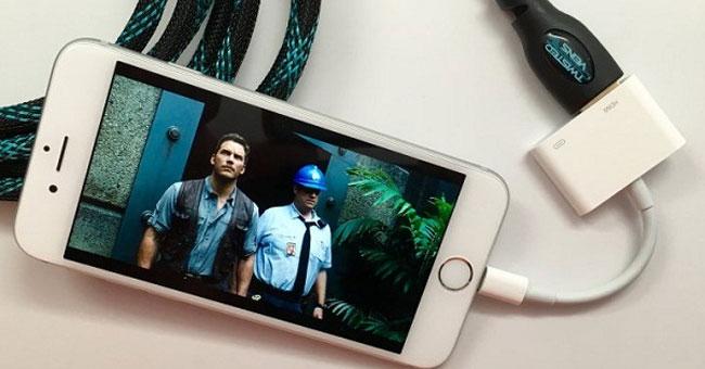Cách chuyển hình ảnh từ thiết bị iOS lên tivi