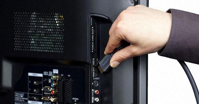 Kết nối bằng cáp HDMI